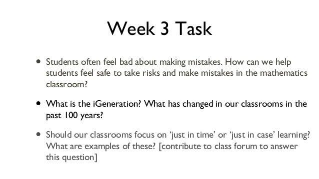 Week 3 online task