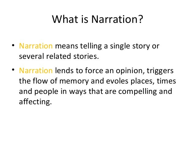 Good Narrative Essay Tips