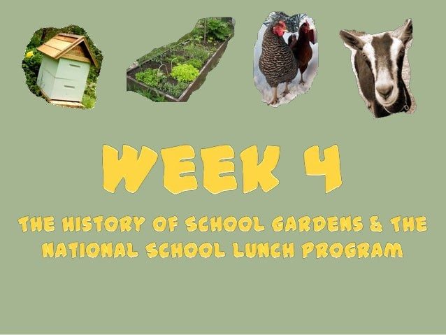 " ""A Community of Gardens"" – role of community gardens in US during war, economic depression, and recession  Example – Vi..."