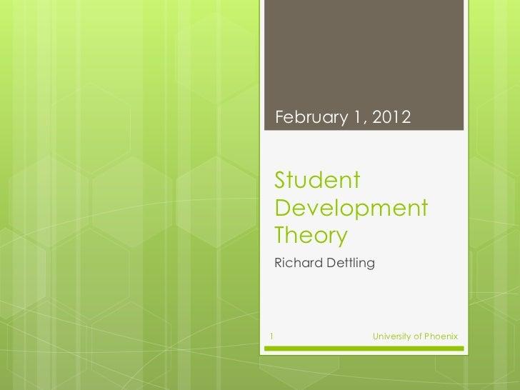 Student Development Theory