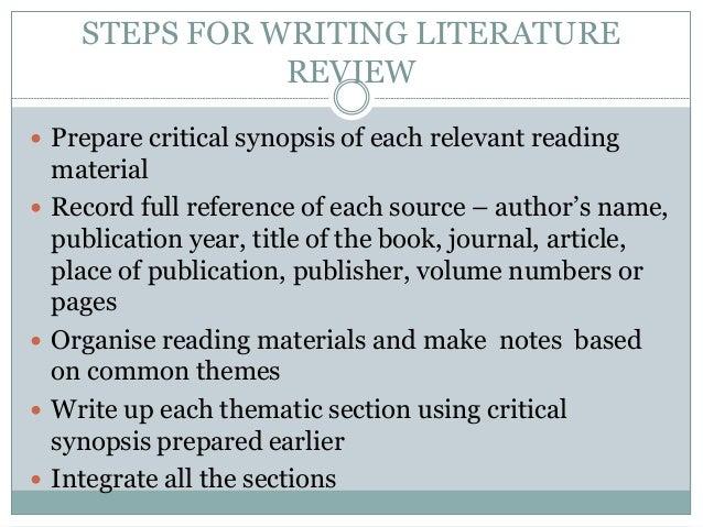 Literature Review University admissions essay