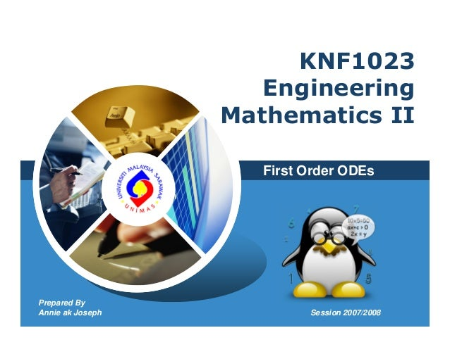 KNF1023                                   Engineering                                Mathematics II                       ...