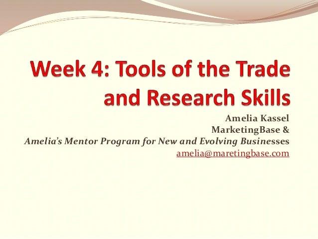 Amelia Kassel MarketingBase & Amelia's Mentor Program for New and Evolving Businesses amelia@maretingbase.com