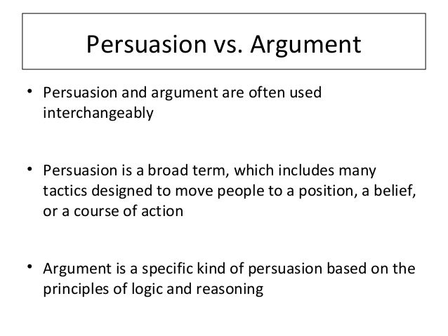 persuasive vs argumentative essay Argumentative versus informative articles as you continue your research into your issue, keep in mind that you must distinguish between argumentative articles and informative ones.