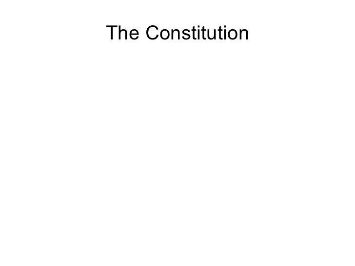 Week 5.1 preamble & the house