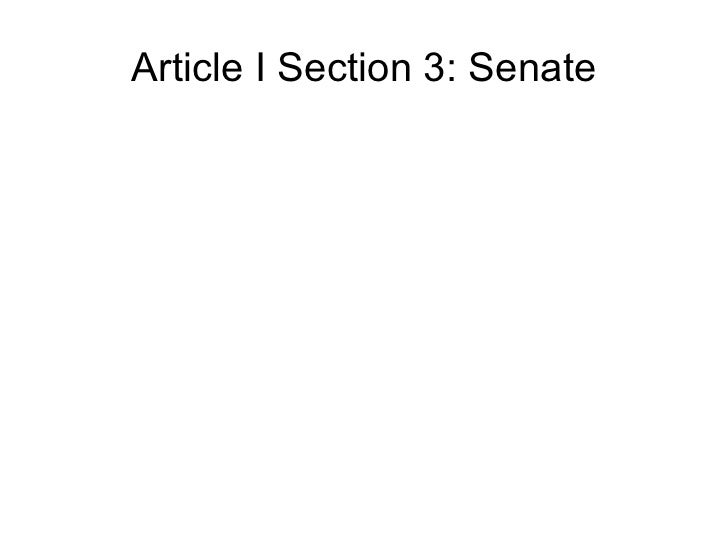 Week 5.2 the senate