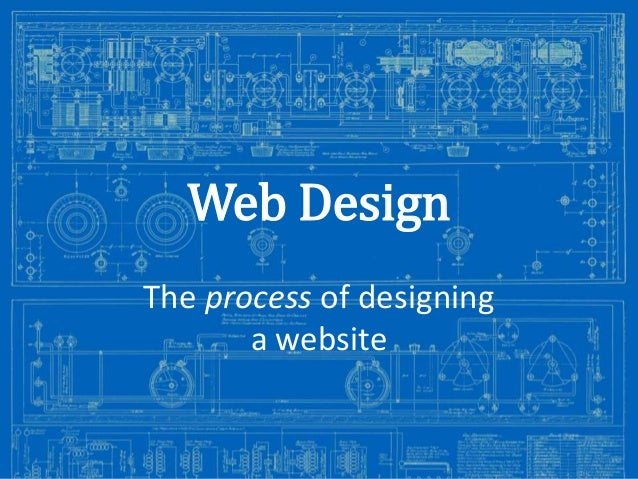 Web Design The process of designing a website Image from: http://antiqueradios.com/forums/viewtopic.php?f=1&t=188309&start...