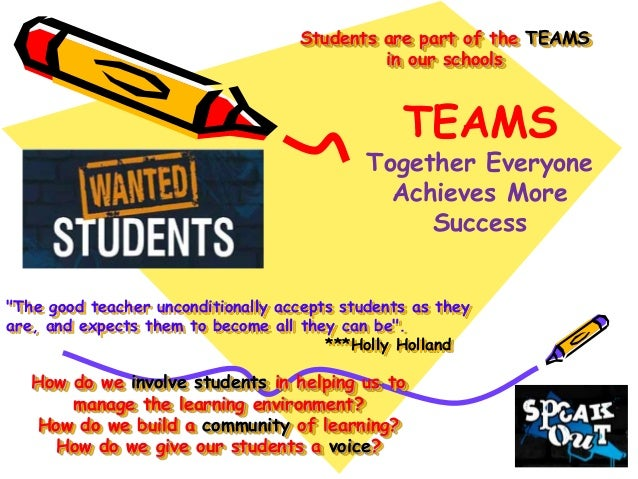 TEAMS - Building a Community of Learners