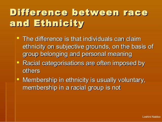 race and ethnicity essay introduction Race and ethnicity in america race, ethnicity, art and film essay introduction i decided to write about the influence of race and ethnicity on a person's.