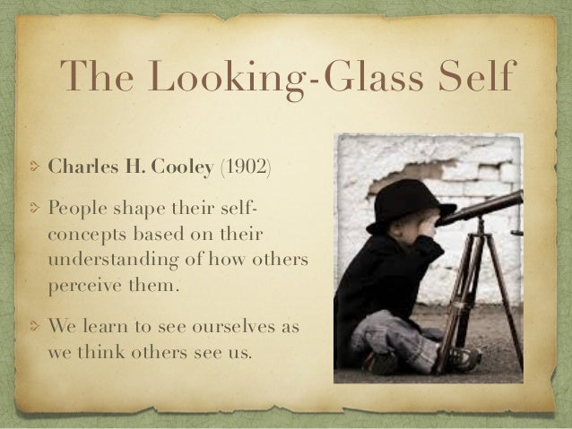 Sociology, looking glass self theory example?