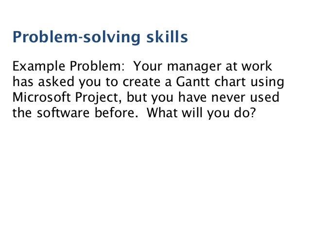 exle problem solving skills dailynewsreport970 web