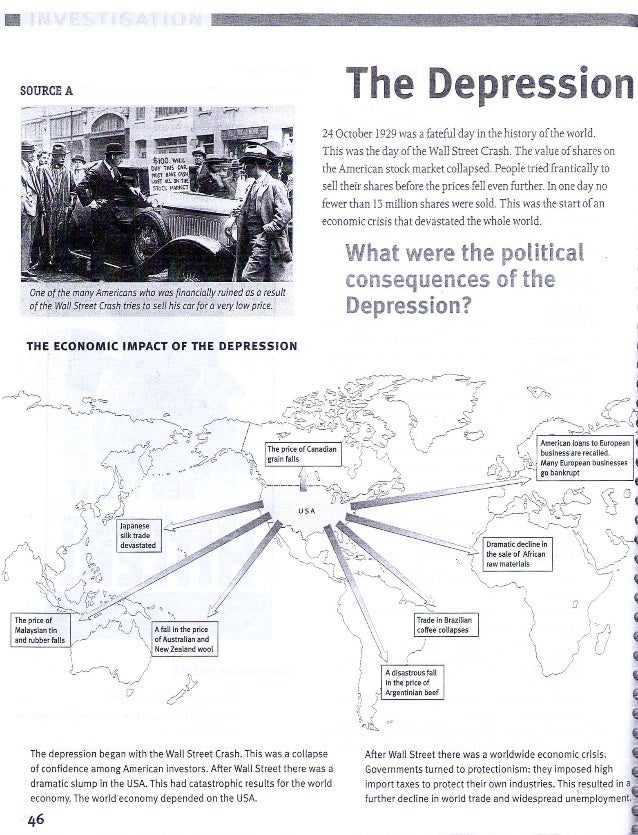 the impact of the great depression on Social impact of the great depression by 1932 united states industrial output had been cut in half one fourth of the labor force--about 15 million people--was out of work, and there was no such thing as unemployment insurance.