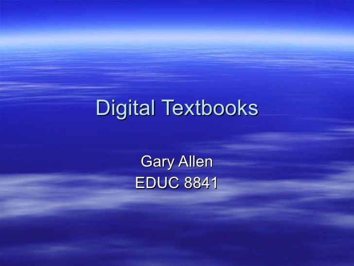 Week 6 digital textbooks storyboard