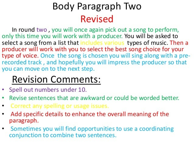 Revise and Comment this paragraph?