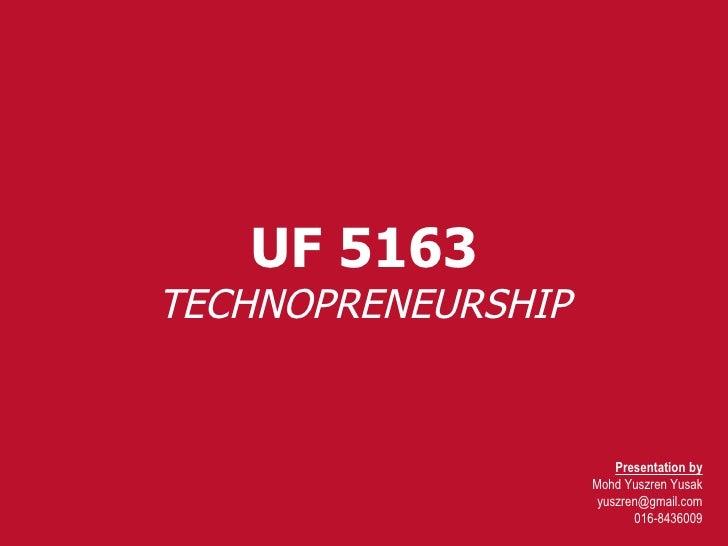 Week 7 Uf 5163