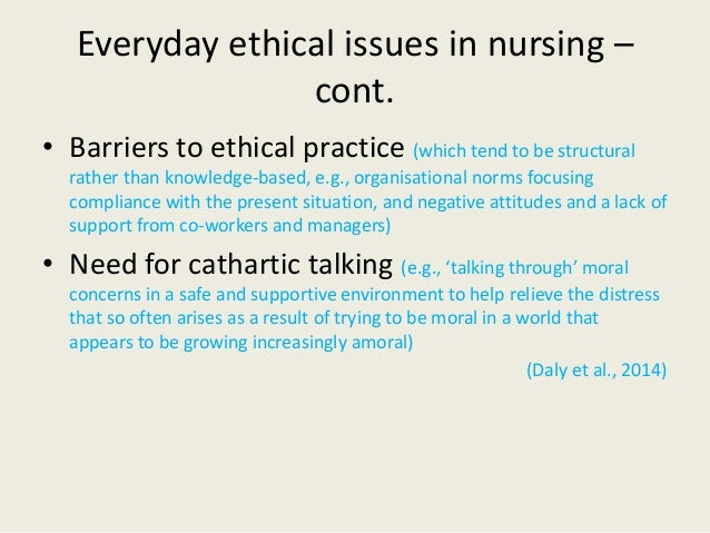 Is abortion an ethical issue for a nurse ?