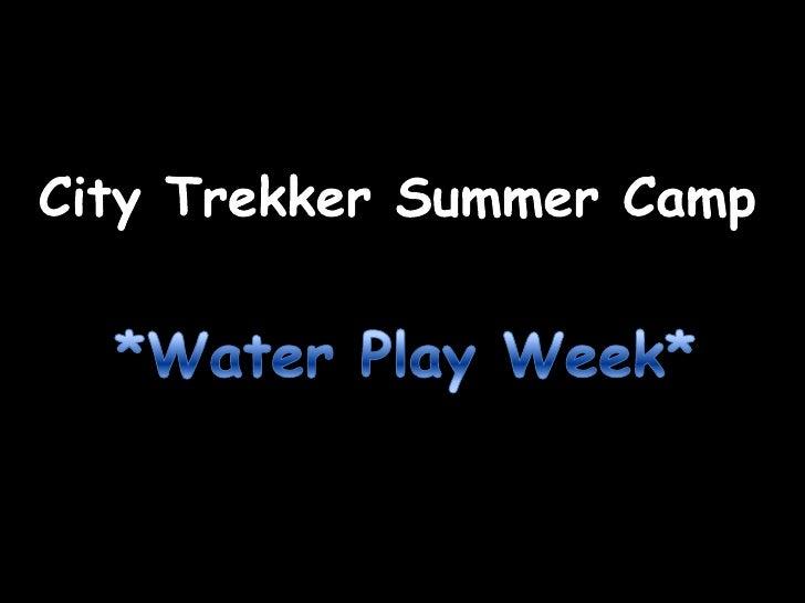 Water Play Week