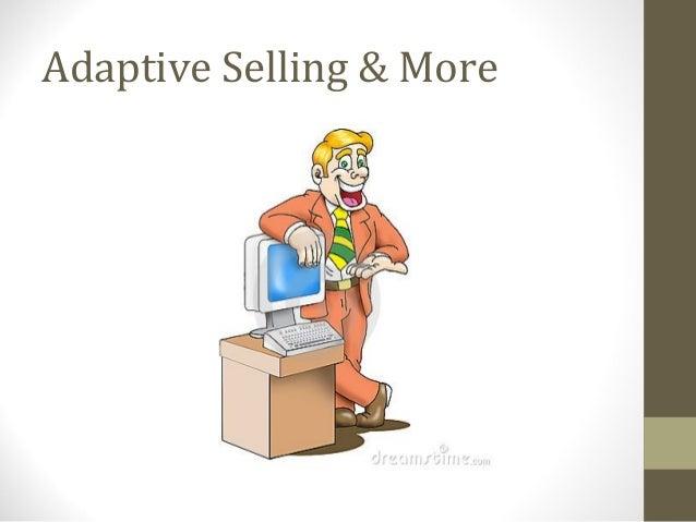 Week five  adaptive selling & solution selling-revised 4-2010