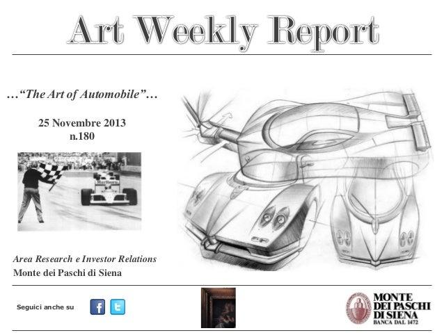 Art Weekly Report_25 novembre 2013