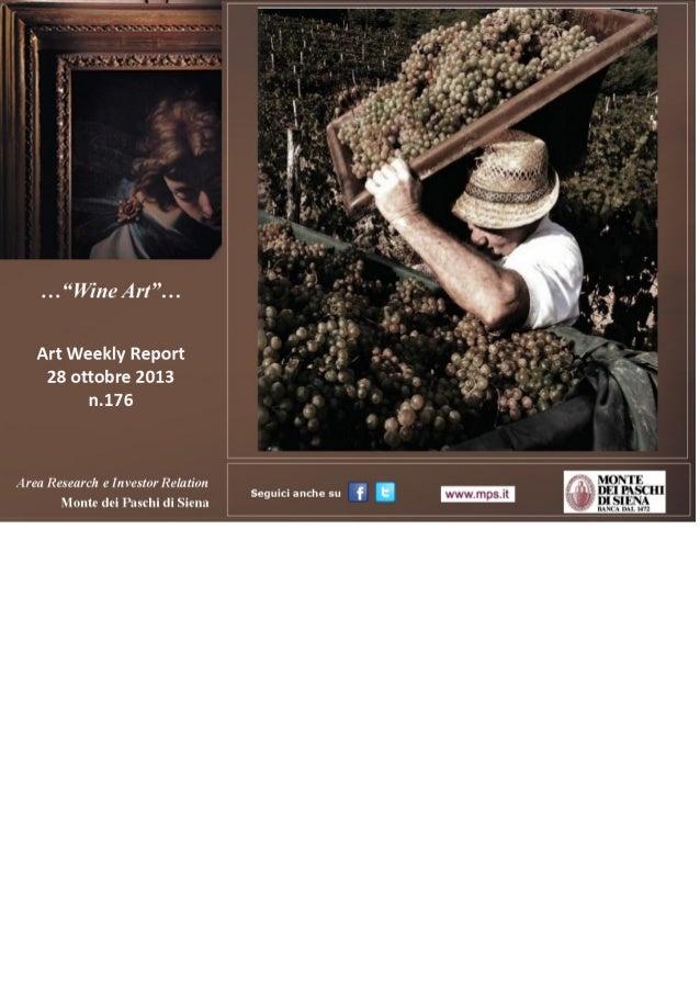 Art Weekly Report_28 ottobre 2013