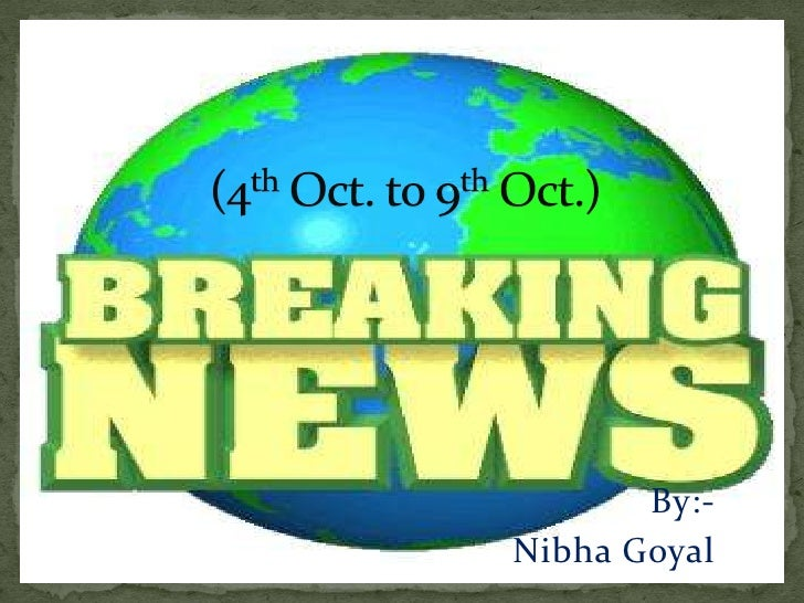 Weekly et news