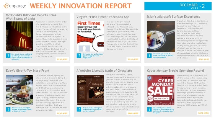 Weekly innovation report 12 1 ready