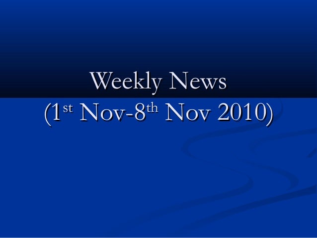 Weekly news.ppt11