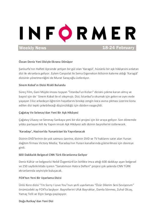 Informer - 18-24 Feb Weekly News