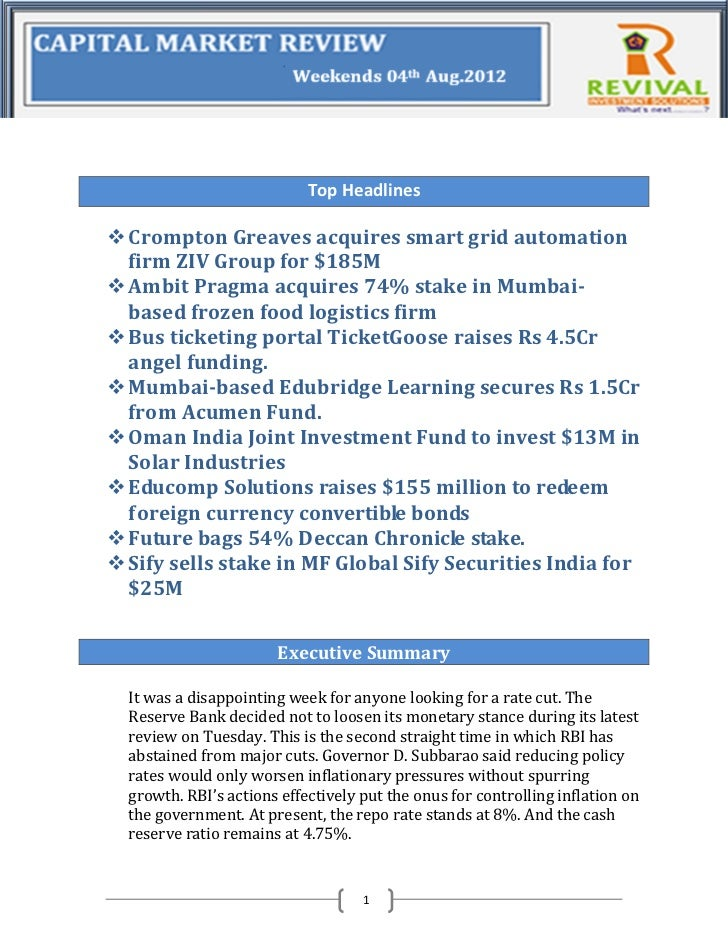 Top Headlines Crompton Greaves acquires smart grid automation  firm ZIV Group for $185M Ambit Pragma acquires 74% stake ...