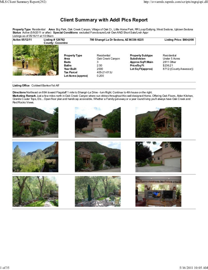 MLS Client Summary Report(292)                                                                                        http...