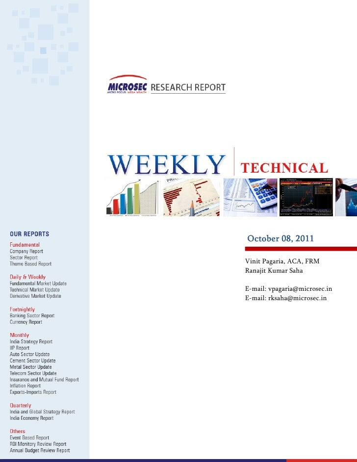 Microsec - Weekly Technical Oct 8th 2011