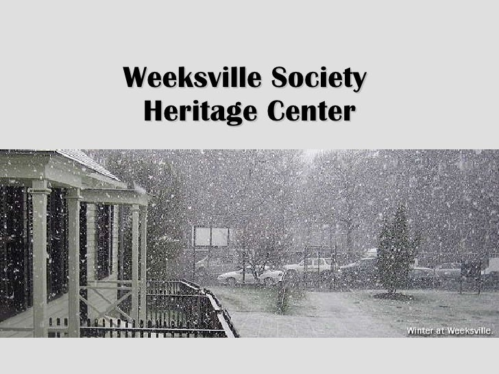 Weeksville Society  Heritage Center
