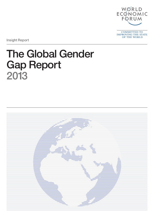 Gender gap report 2013