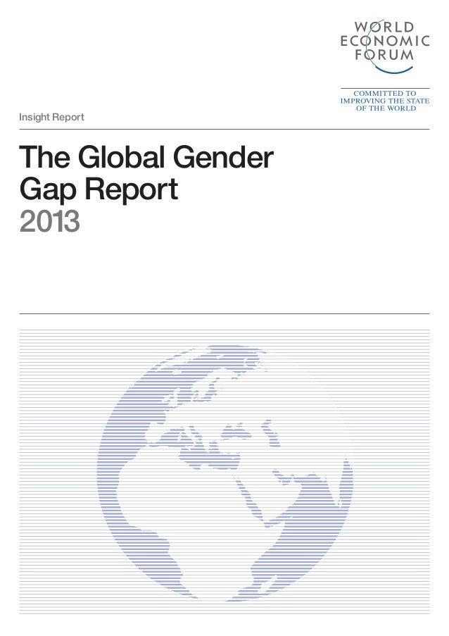 The Global Gender Gap Report 2013 Insight Report