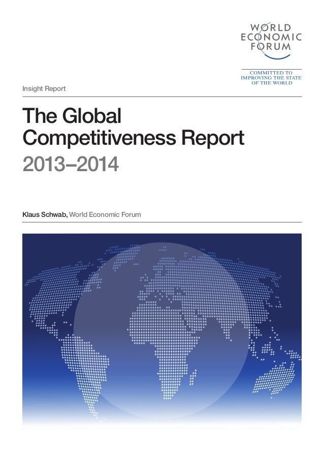 WEF Global Competitiveness Report 2013-14