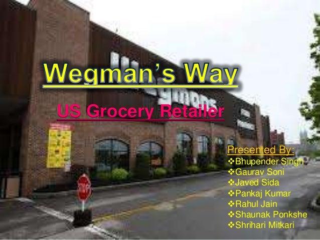 US Grocery Retailer Presented By: Bhupender Singh Gaurav Soni Javed Sida Pankaj Kumar Rahul Jain Shaunak Ponkshe Sh...