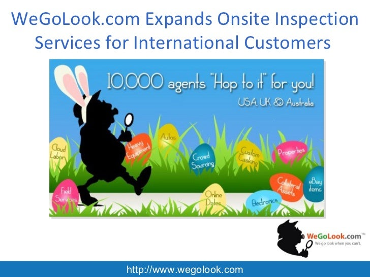 WeGoLook.com Expands Onsite Inspection Services for International Customers