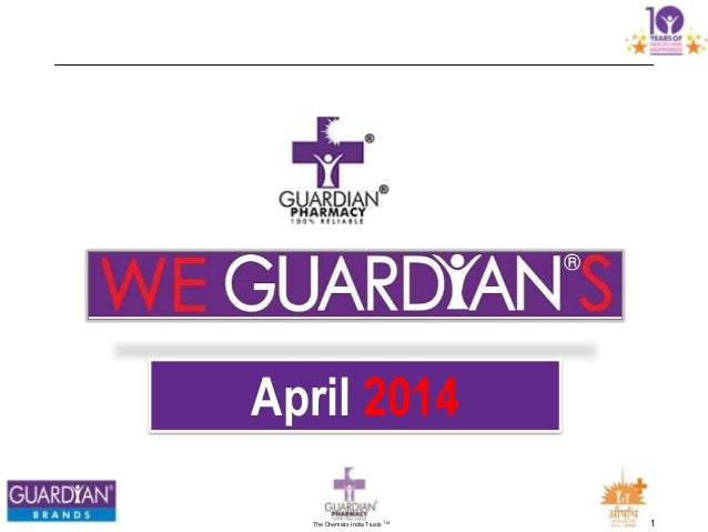We Guardians  April 2014