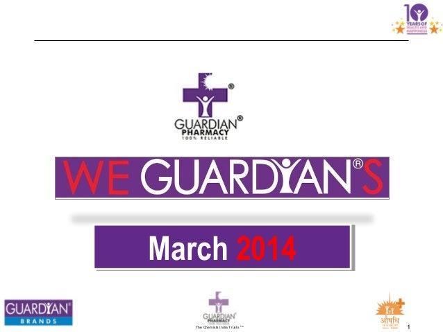 We guardians  March 2014