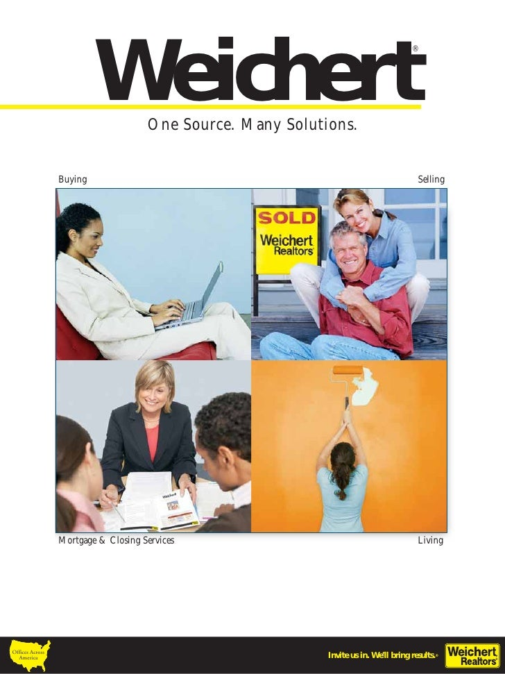 Weichert  Brochure (About Us)
