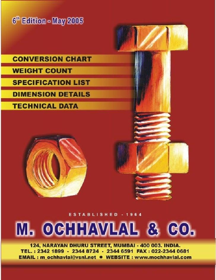 M.        OCHHAVLAL                                           &         CO.124, NARAYAN DHURU STREET, MUMBAI - 400 003. IN...