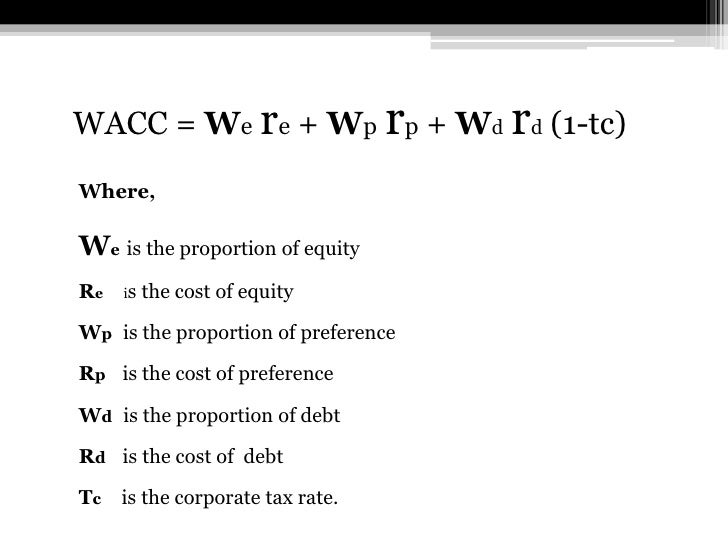 wacc essay Importance of managing the firms weighted average cost of capital (wacc) - essay example let us find you another essay on topic importance of managing the firms.