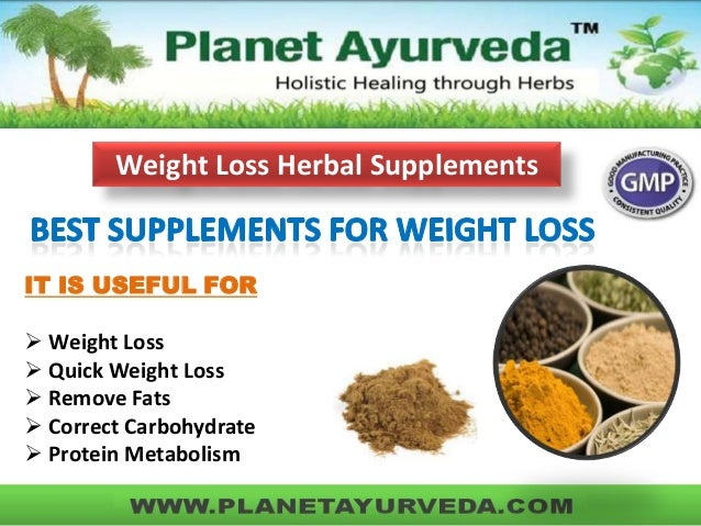 natural weight loss products for children