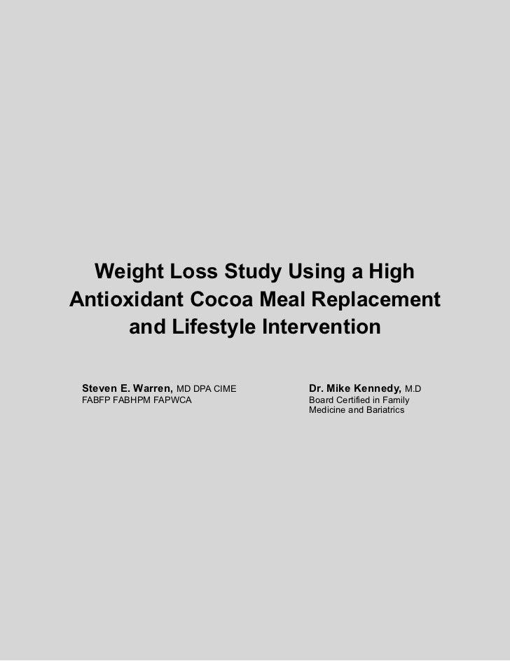weight loss research paper Obesity and cardiovascular disease: pathophysiology, evaluation, and effect of weight loss an update of the 1997 american heart association scientific statement on obesity and heart disease from the obesity committee of the council on nutrition, physical activity, and metabolism.