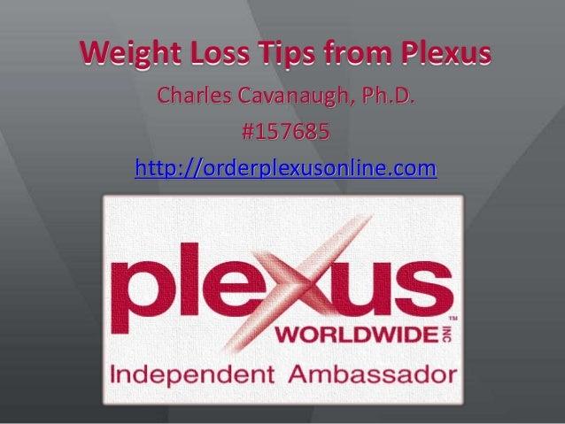 Plexus Slim Weight Loss Tips