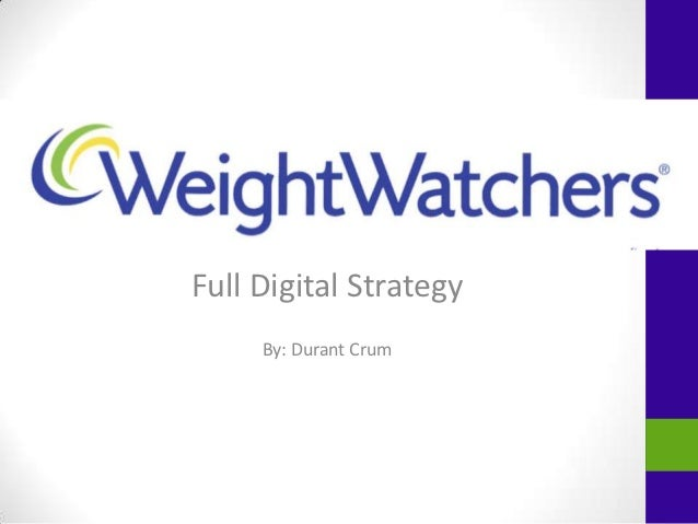 Full Digital Strategy     By: Durant Crum