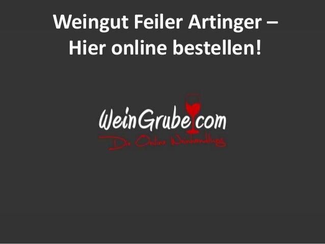 Weingut Feiler Artinger – Hier online bestellen!