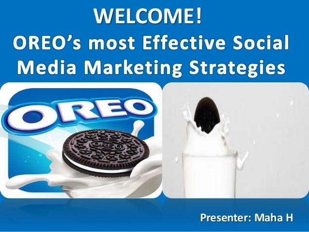 Oreo's most effective Social Media marketing strategies