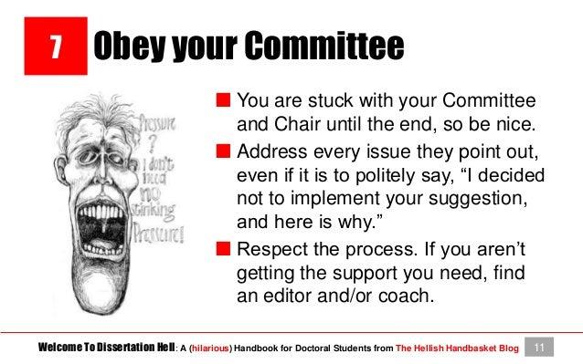 Dissertation chair hell