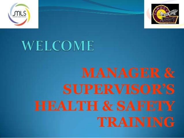 Welcome heath safety123